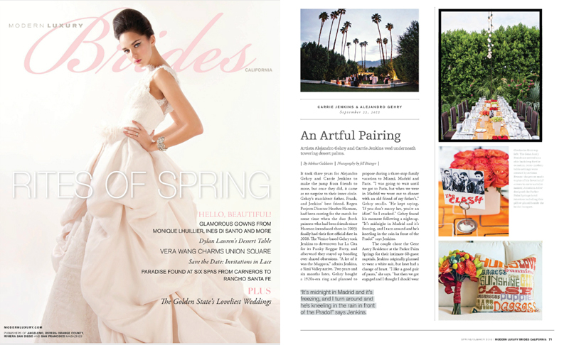 Modern Luxury Bride Magazine Photography by Jillian Modern Photography