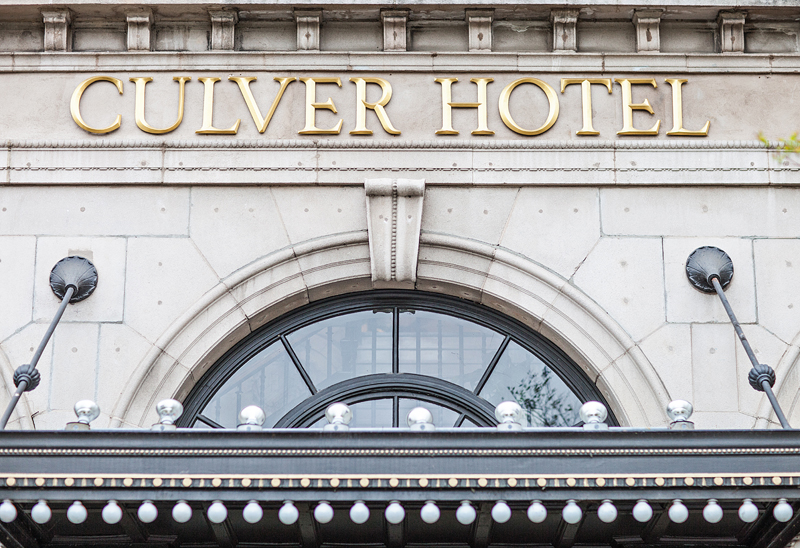 Culver Hotel Wedding | Jillian Modern Photography