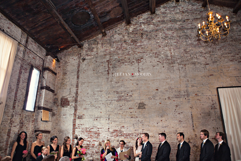 Brooklyn Green Building Wedding | Jillian Modern Photography