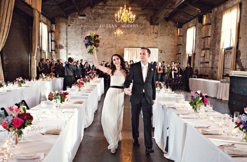 Brooklyn Green Building Wedding | Jillian Modern Photography