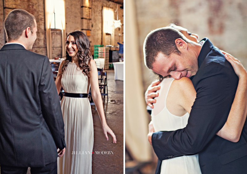 Green Building Wedding | Jillian Modern Photography