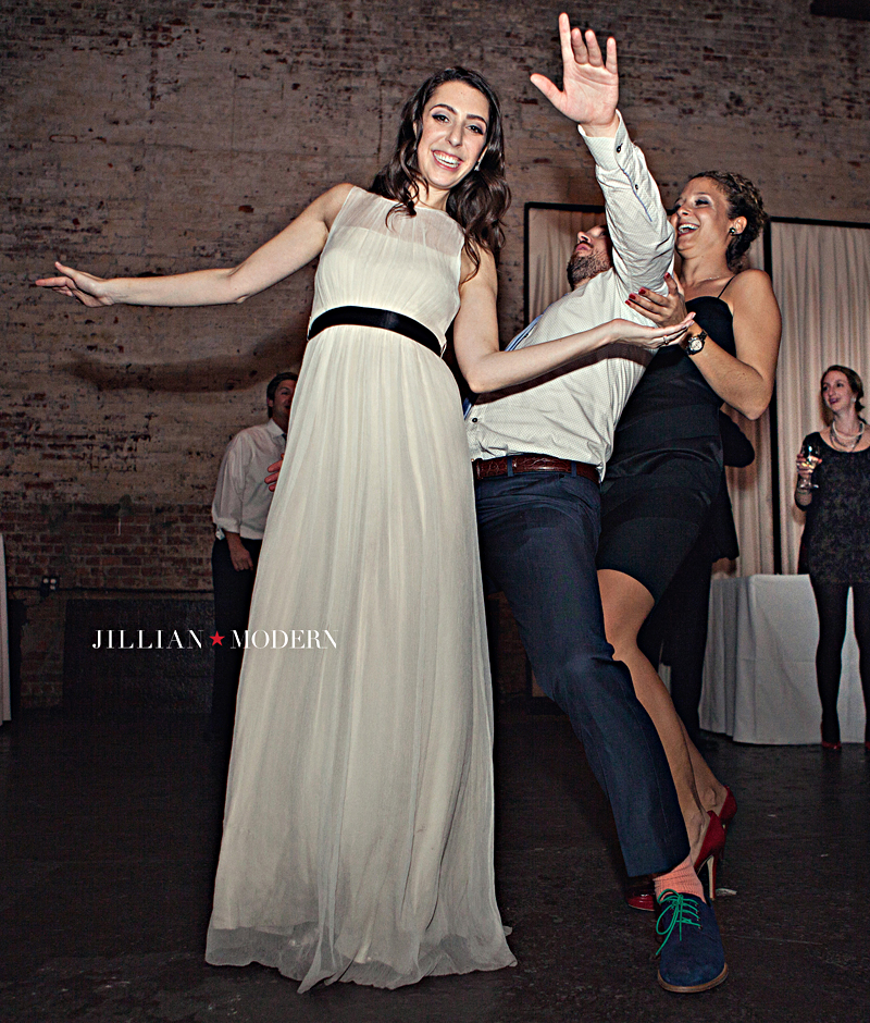 Brooklyn Green Building Wedding by Jillian Modern Photography