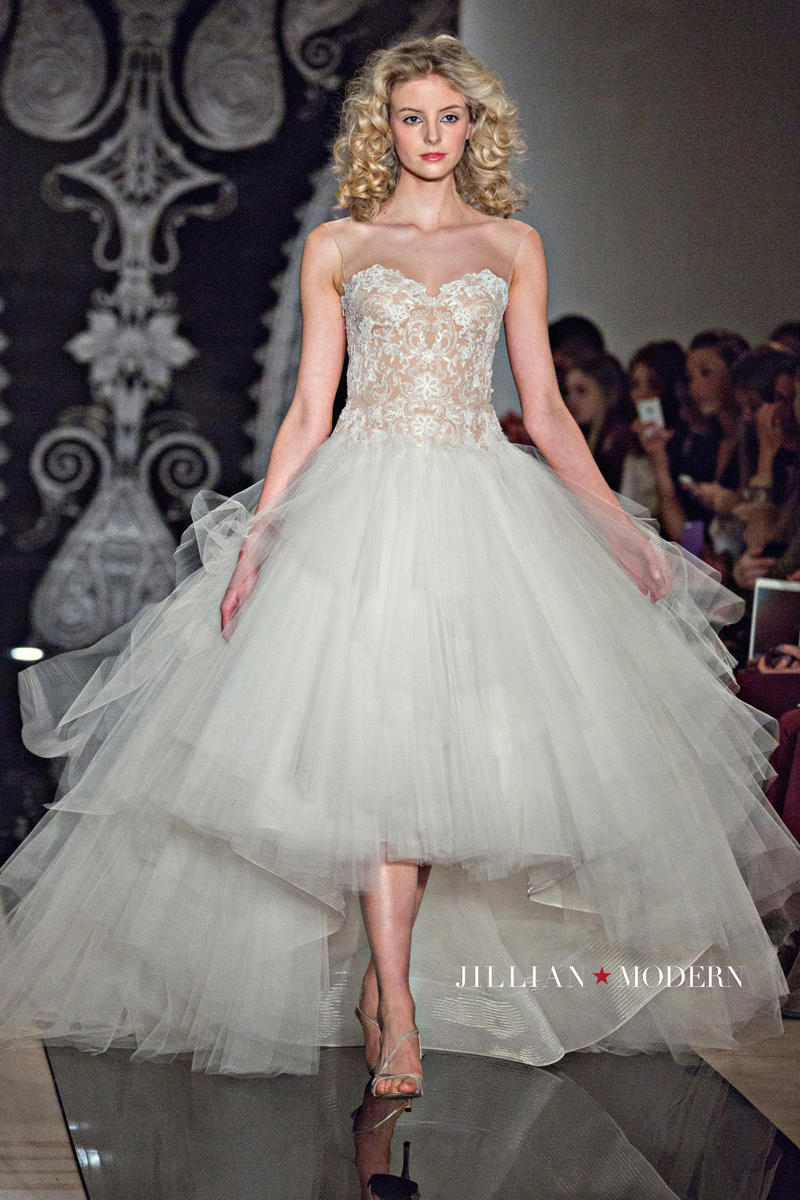 Reem Acra SS14 Runway photographed by Jillian Modern