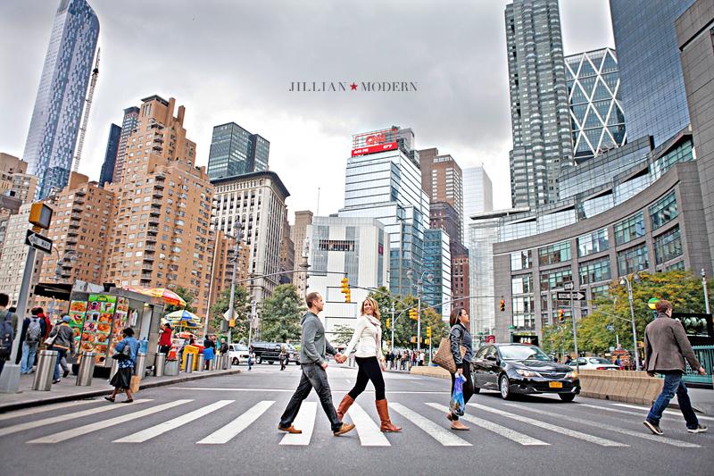 New York City Engagment Photography