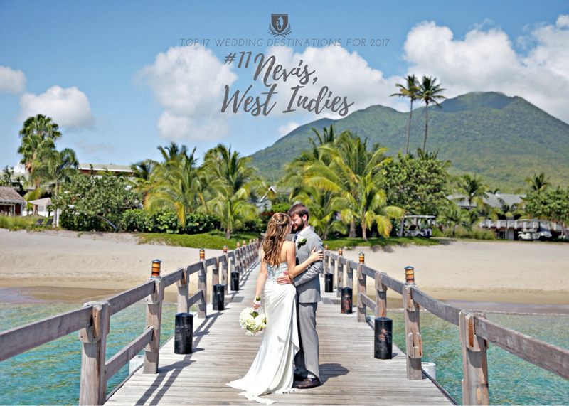 Destination Wedding Photography on the island of Nevis | Photographed by Jillian Modern Photography