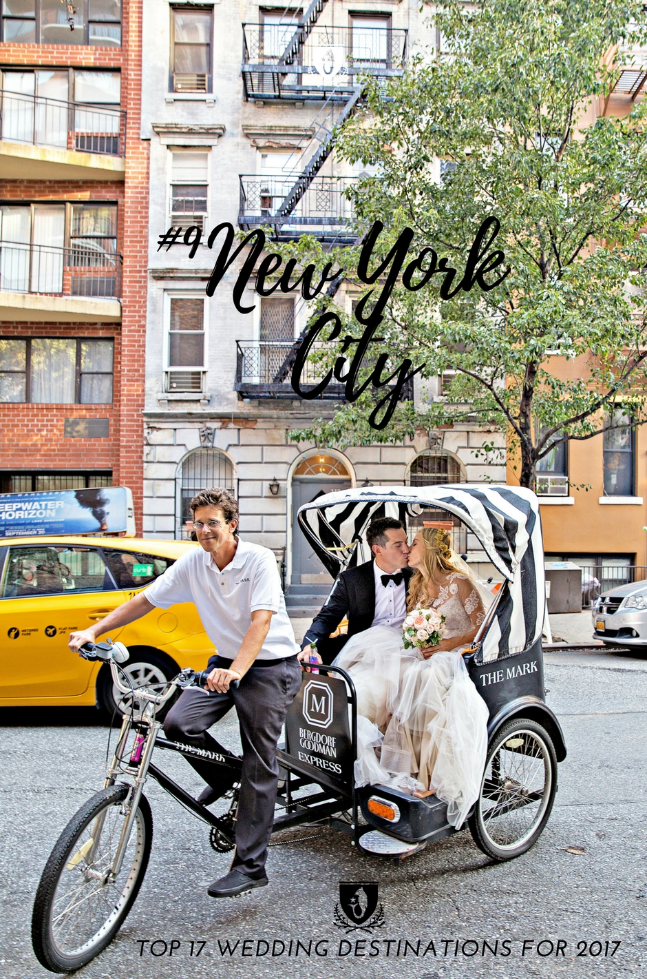 New York City Destination Wedding Photography by Jillian Modern